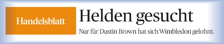 Download Artikel Handelsblatt - Dustin Brown - 06-07-2015