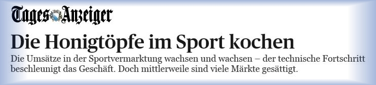 Download Artikel Tagesanzeiger - Sportrechtevermarktung - August 2015